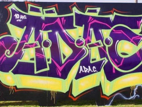 Fresque ADAC